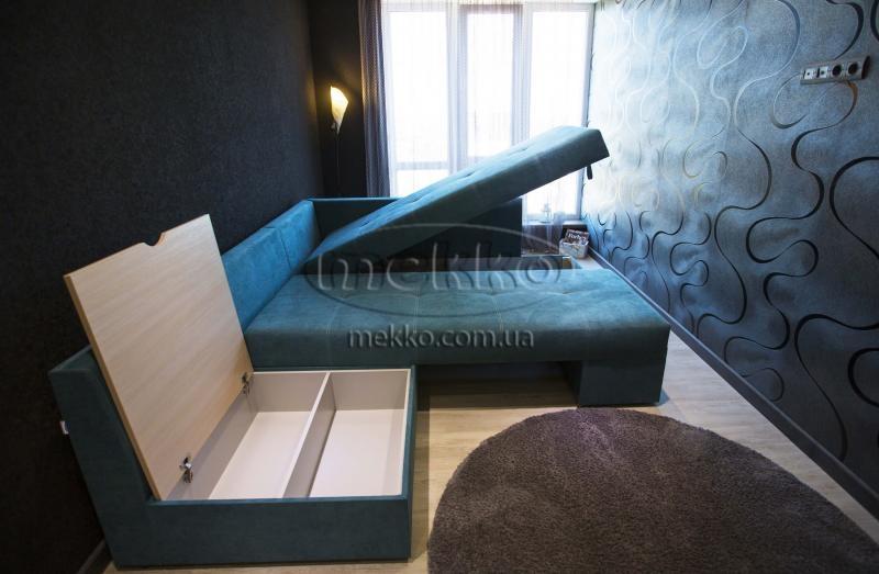 Кутовий диван з поворотним механізмом (Mercury) Меркурій ф-ка Мекко (Ортопедичний) - 3000*2150мм  Болехів-7