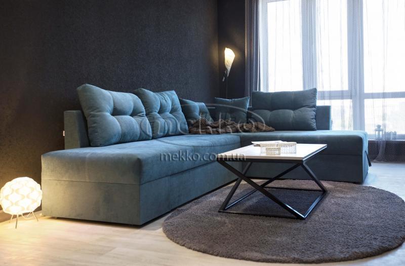 Кутовий диван з поворотним механізмом (Mercury) Меркурій ф-ка Мекко (Ортопедичний) - 3000*2150мм  Болехів