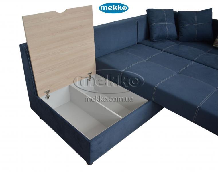 Кутовий диван з поворотним механізмом (Mercury) Меркурій ф-ка Мекко (Ортопедичний) - 3000*2150мм  Болехів-18