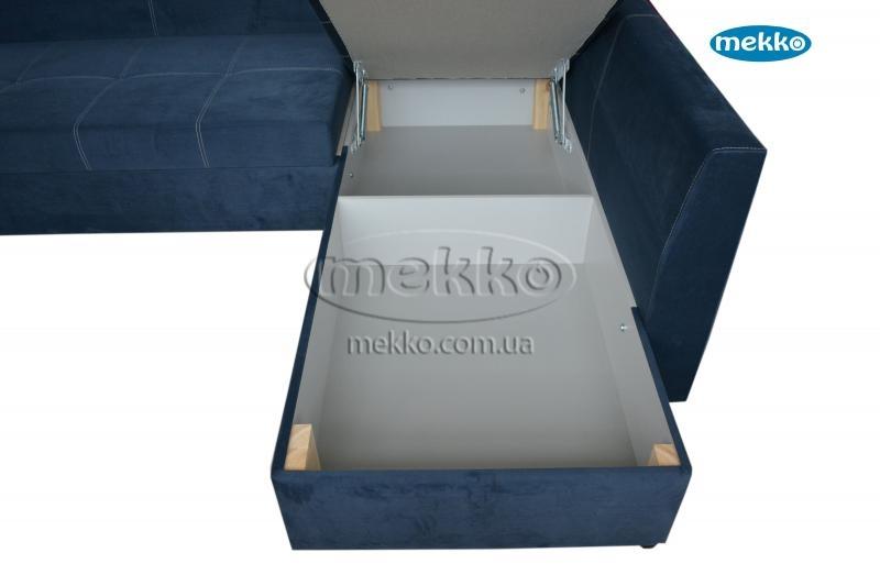 Кутовий диван з поворотним механізмом (Mercury) Меркурій ф-ка Мекко (Ортопедичний) - 3000*2150мм  Болехів-20