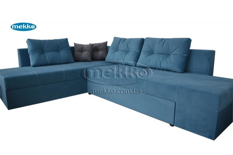 Кутовий диван з поворотним механізмом (Mercury) Меркурій ф-ка Мекко (Ортопедичний) - 3000*2150мм  Болехів-11